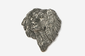 #455D - Boykin Spaniel  Antiqued Pewter Pin