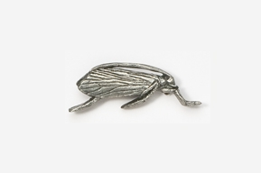 #503 - Caddis Antiqued Pewter Pin