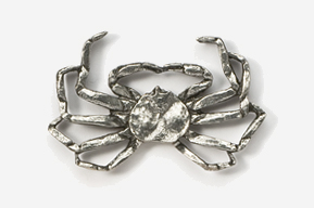 #531C - Opilio / Snow Crab Antiqued Pewter Pin