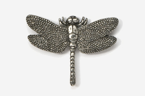 #569 - Dragonfly Antiqued Pewter Pin