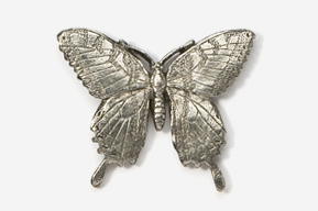 #570 - Tiger Swallowtail Antiqued Pewter Pin
