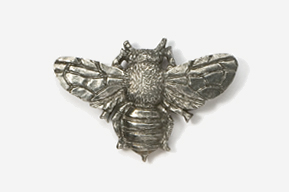 #578 - Bee Antiqued Pewter Pin
