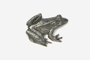 #590 - Frog Antiqued Pewter Pin