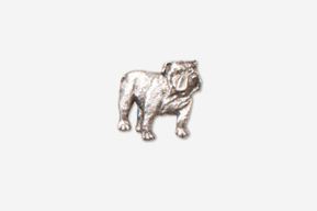 #M463A - Bulldog Pewter Mini-Pin