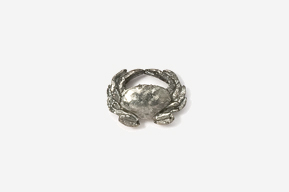 #M531A - Dungeness Crab Pewter Mini-Pin