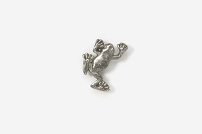 #M591 - Climbing Tree Frog Pewter Mini-Pin