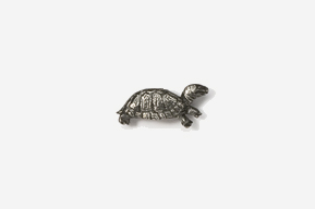 #M608 - Box Turtle Pewter Mini-Pin