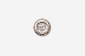 #M800 - White Flyer Clay Pigeon Pewter Mini-Pin