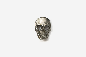 #M810 - Skull Pewter Mini-Pin