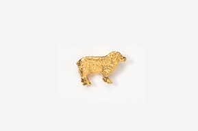 #TT447G - Sheep 24K Plated Tie Tac
