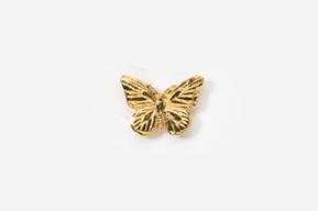 #TT572G - Monarch Butterfly 24K Plated Tie Tac