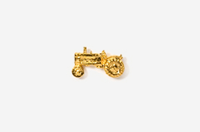 #TT935G - Tractor 24K Plated Tie Tac