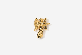 #TT975G - Angel 24K Plated Tie Tac